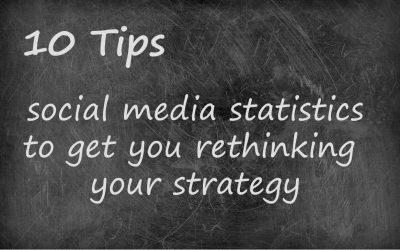 Social media statistics to get you thinking